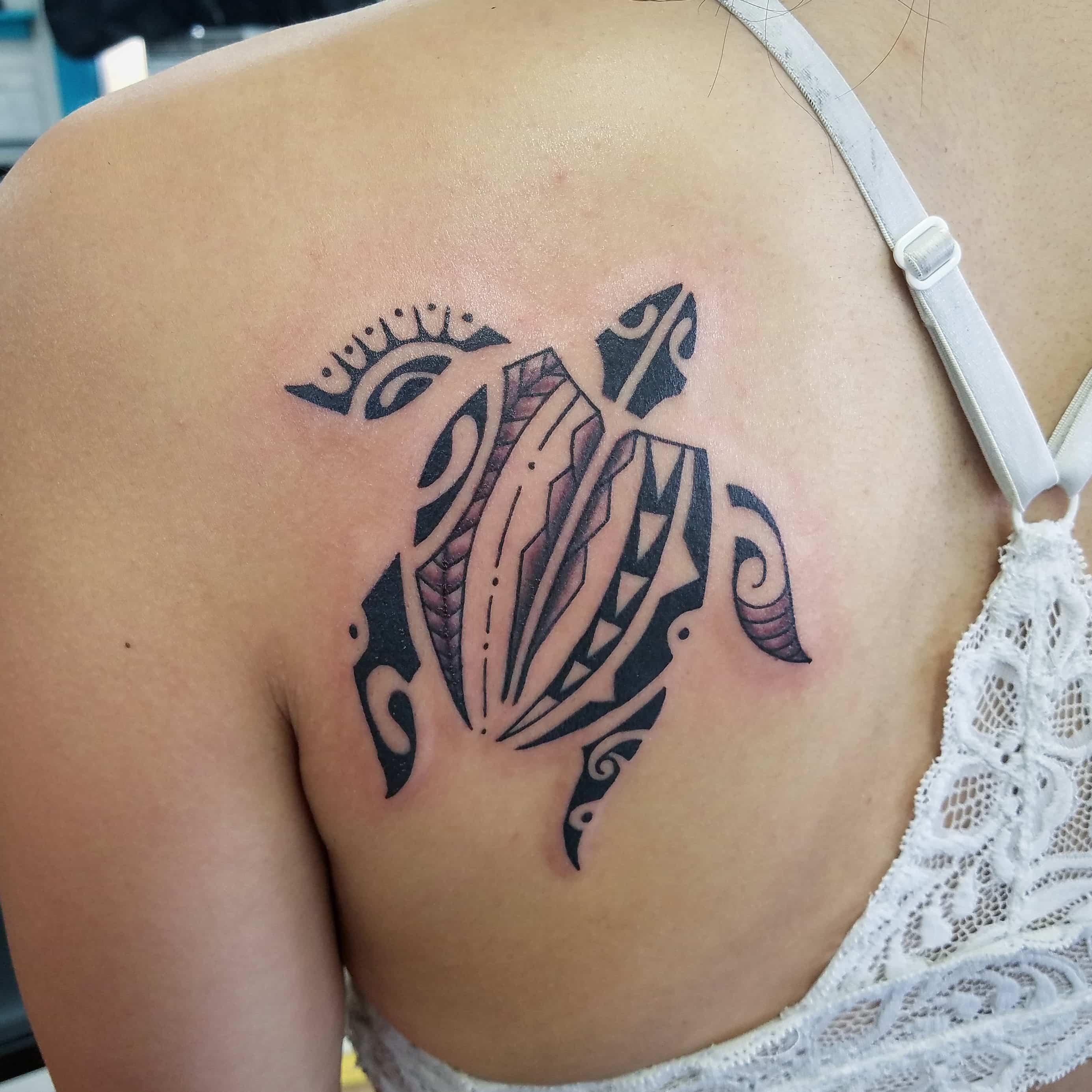 Polynesian turtle-min
