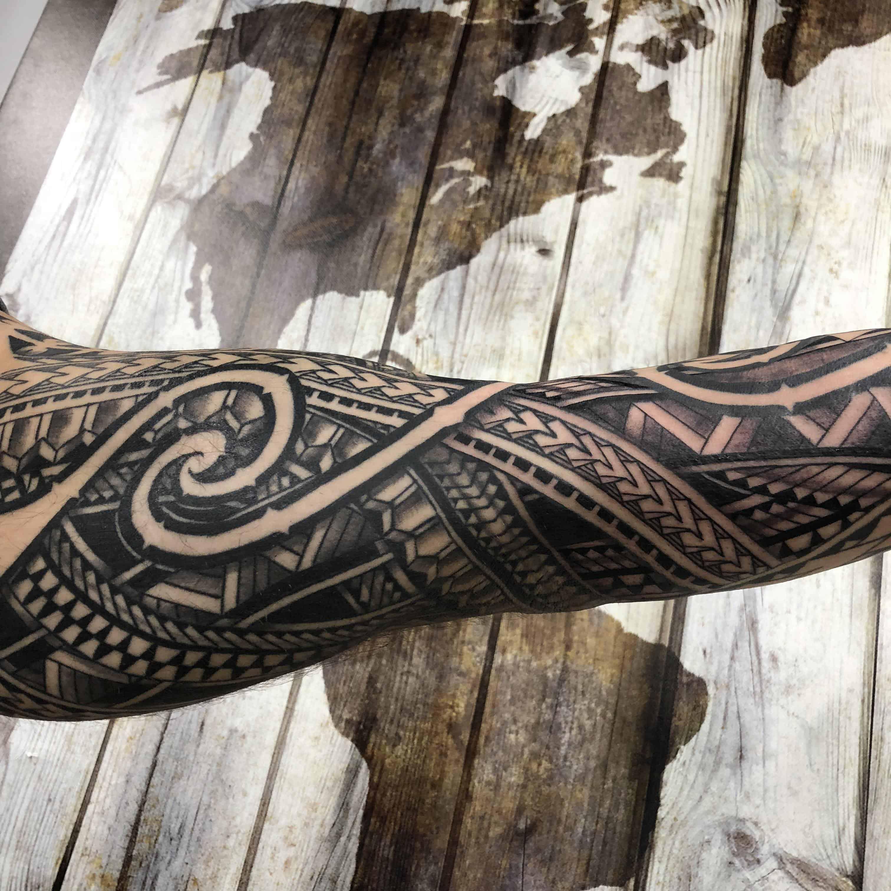 polynesian tattoo