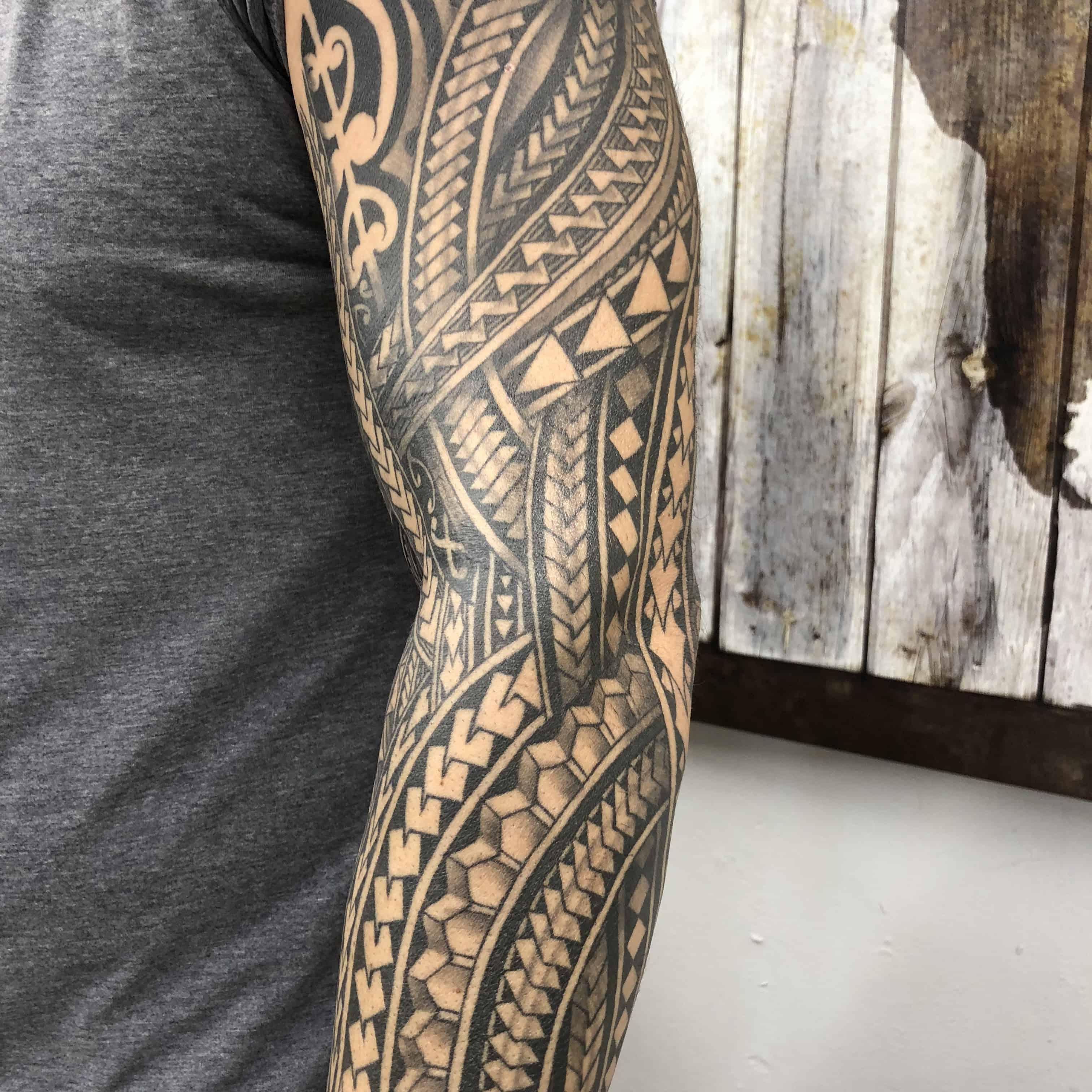Guam Tribal Tattoo Designs