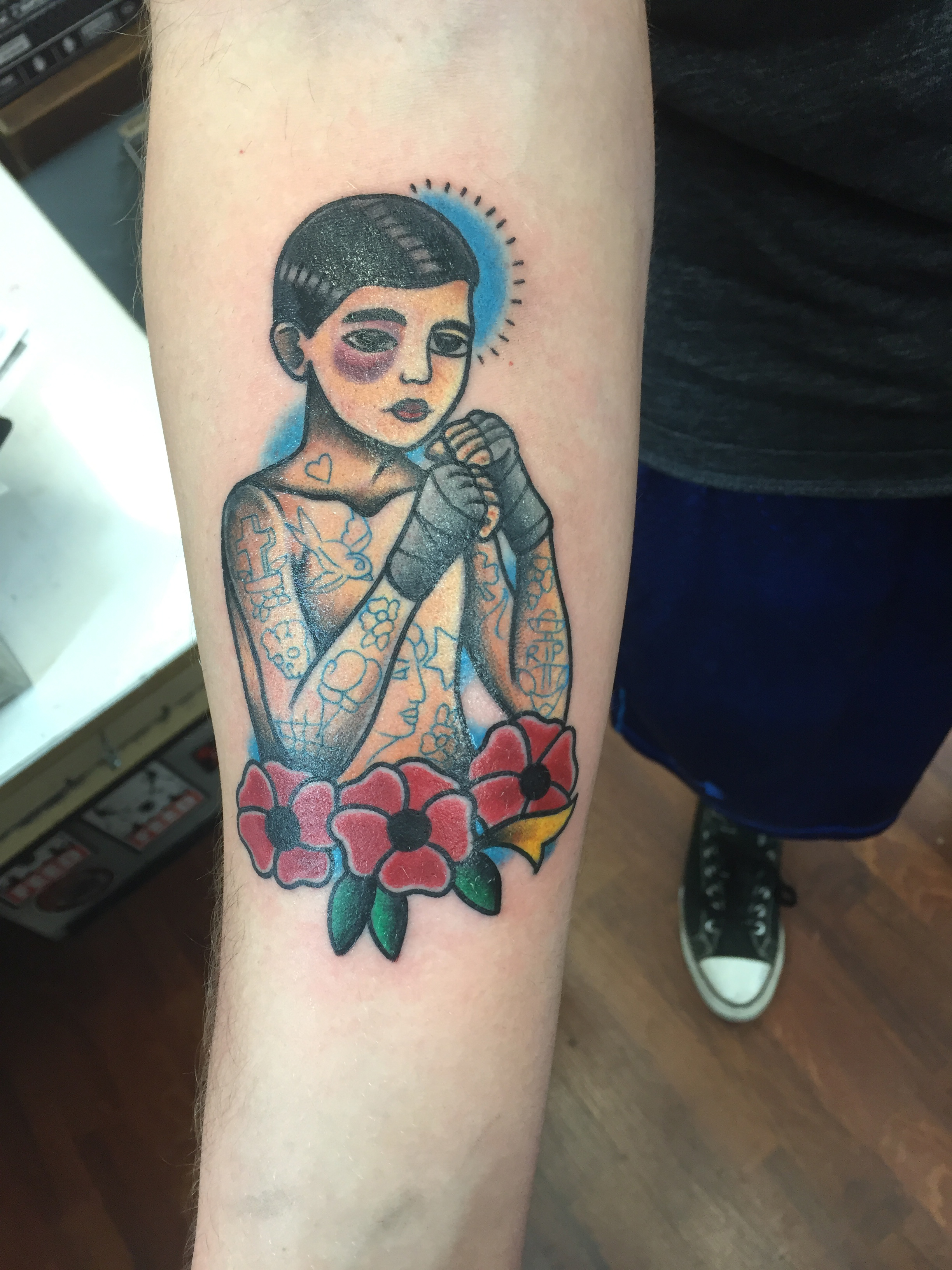 Traditional Tattoos - Funhouse Tattoo San Diego