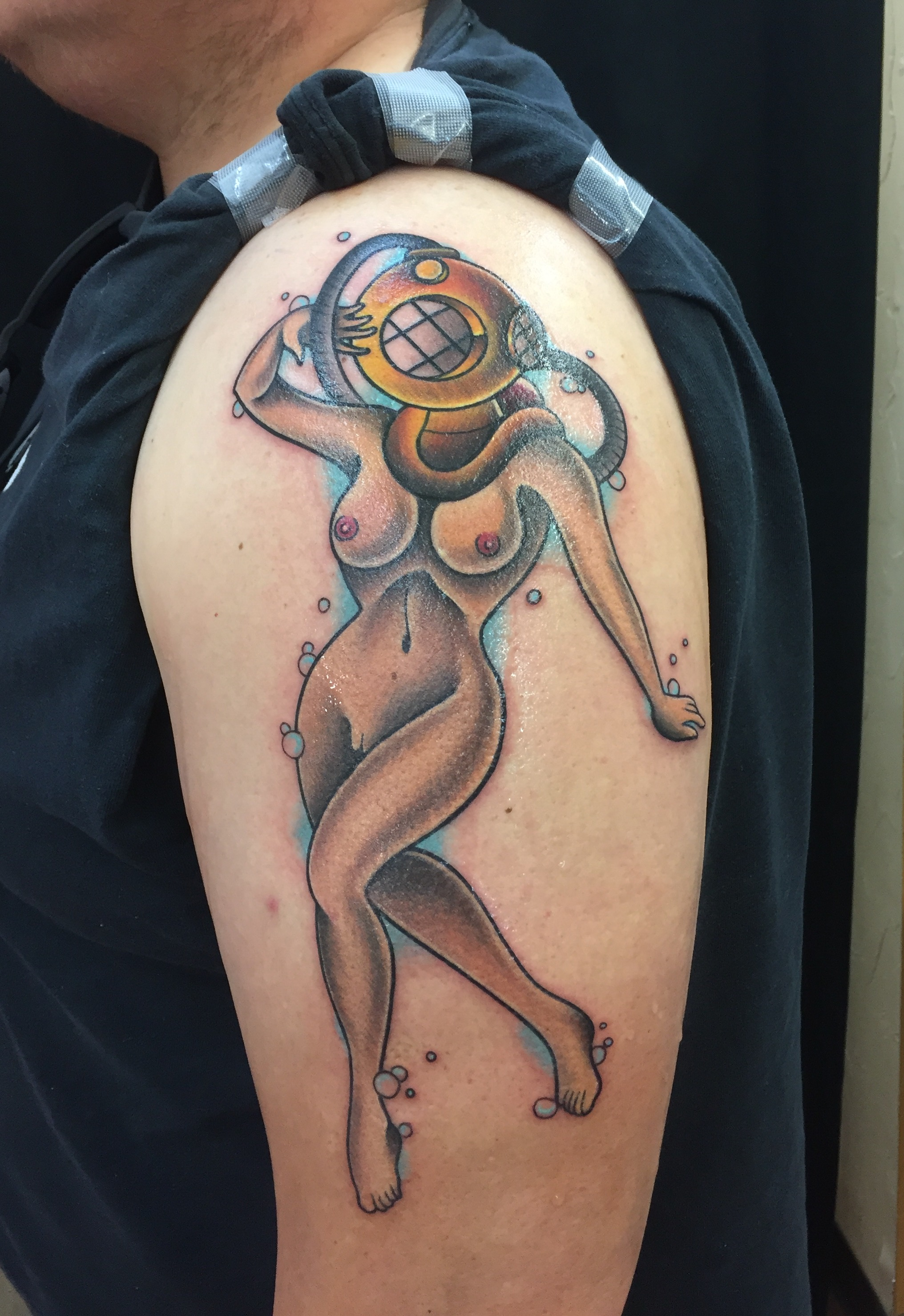 Traditional Tattoos - Funhouse Tattoo San Diego-8297