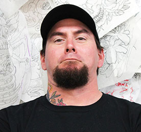 scott kautman tattoo artist at funhouse tattoo