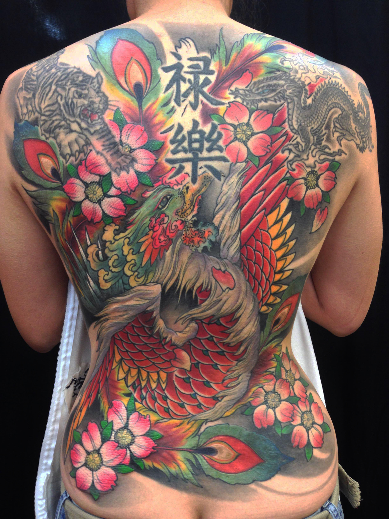 Japans Rich Imagery And Meanings Of Tattoos Funhouse Tattoo San Diego