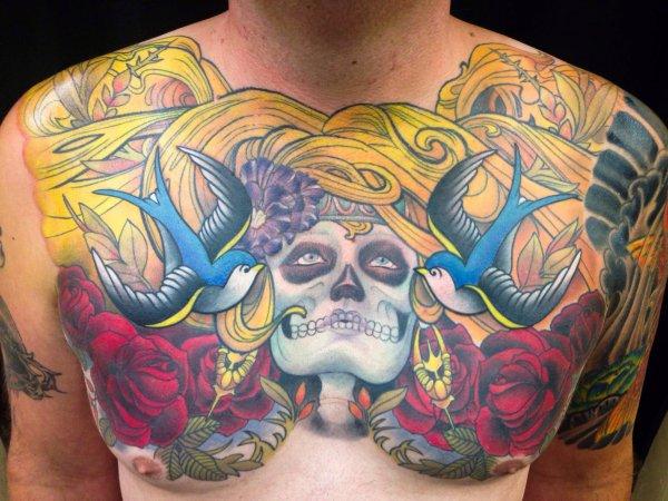 New School Tattoo Design Funhouse Tattoo San Diego