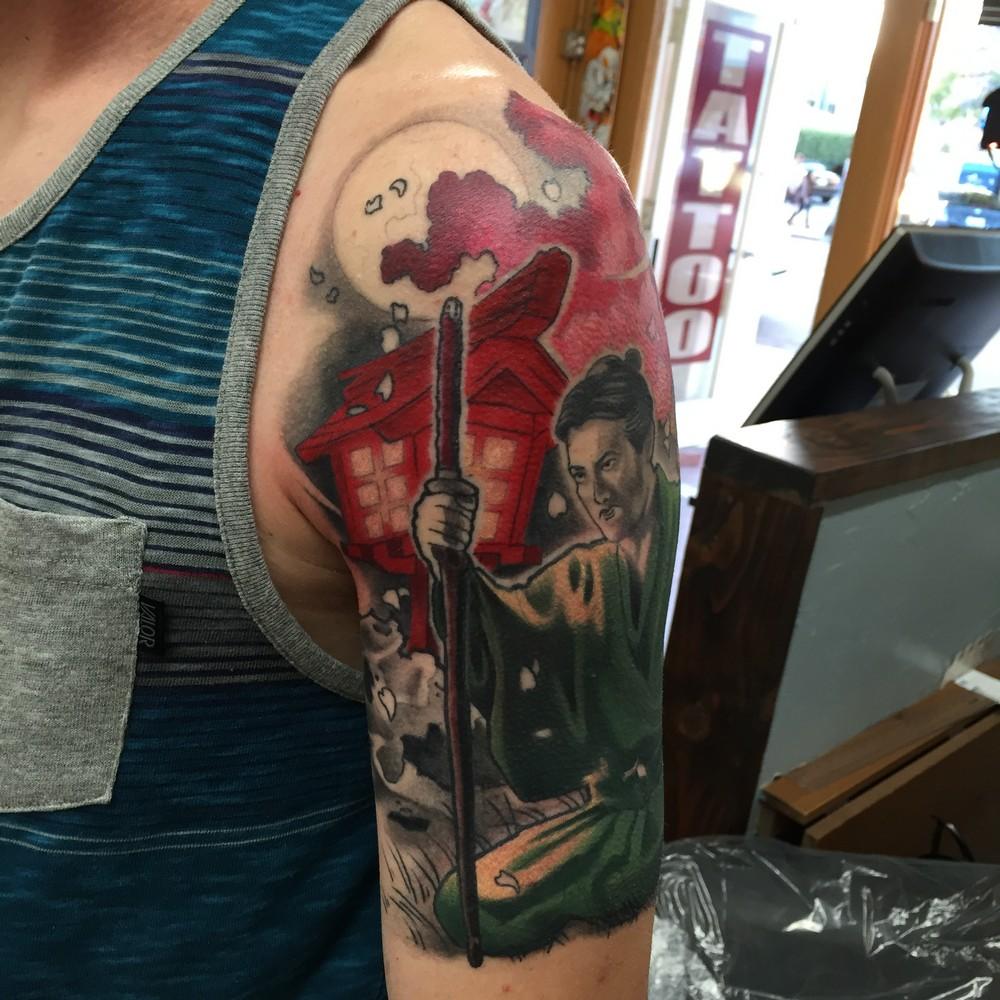 6f30988f9 Funhouse San Diego's Watercolor Tattoos. FullSizeRender.  D67E1AD9-CF85-49A5-895C-AD868DA96D6D