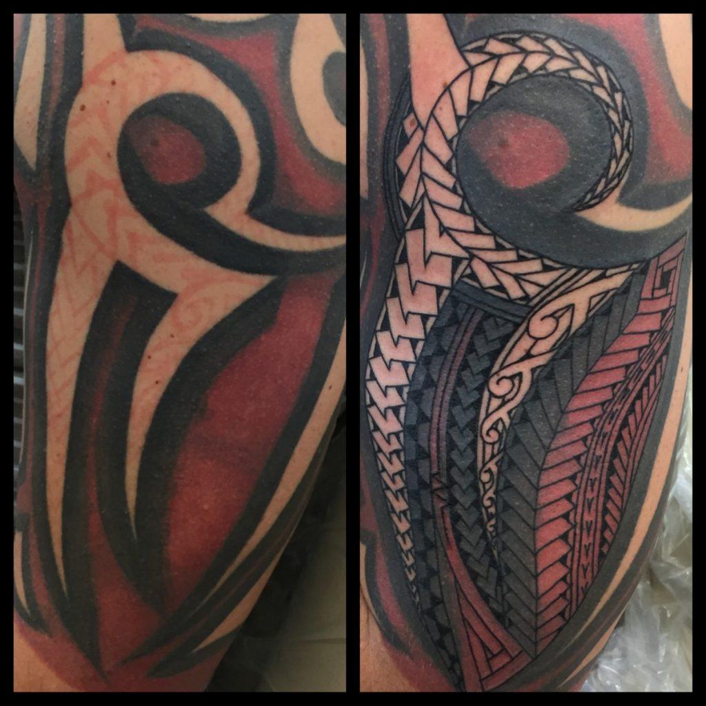 Polynesian tattoos funhouse tattoo san diego img0442rge biocorpaavc Gallery