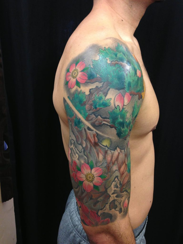 Japanese Tattoos At Funhouse Tattoo San Diego