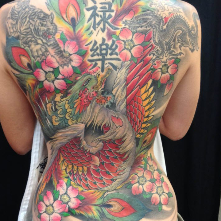 From asian style tattoo pics Huge