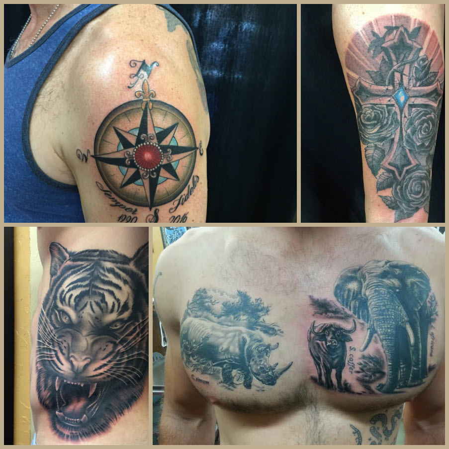 san diego s tattoos of the month july funhouse
