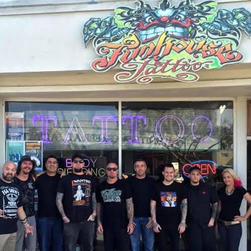 picture of Funhouse Tattoo Shop in San Diego