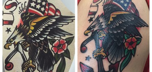 0b79ffc5e The anchor tattoo is one of Sailor Jerry's most iconic tattoos and is used  as one of the most recognizable symbols for sailors; However, an anchor  tattoo ...
