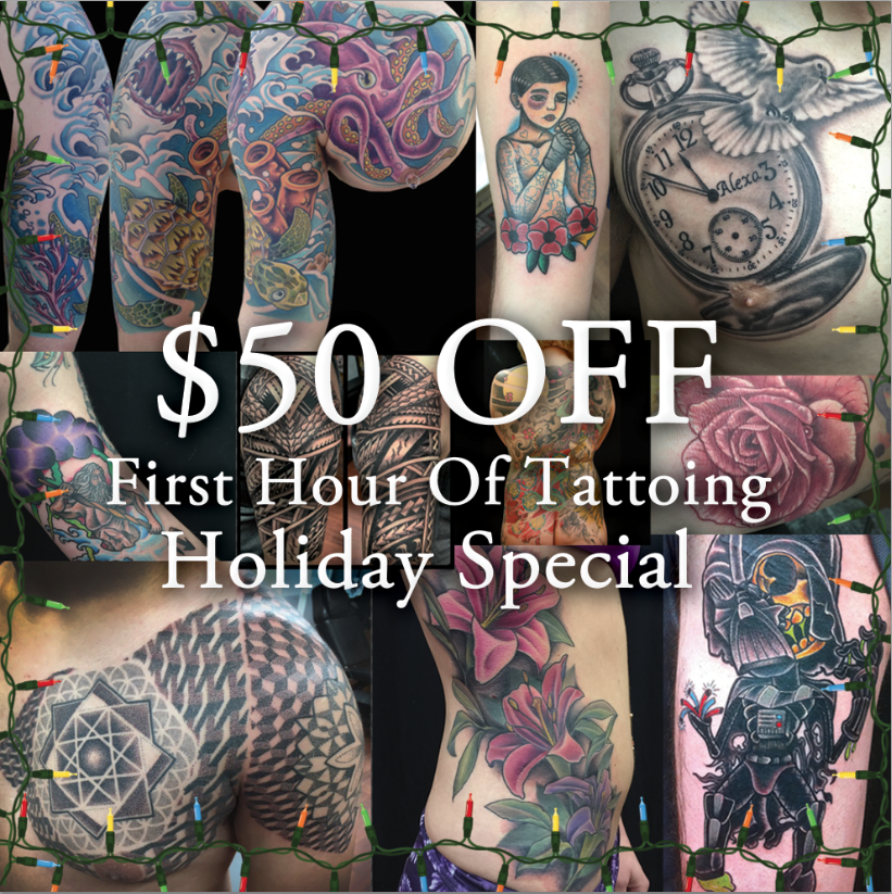 Special Offer at Funhouse Tattoo San Diego