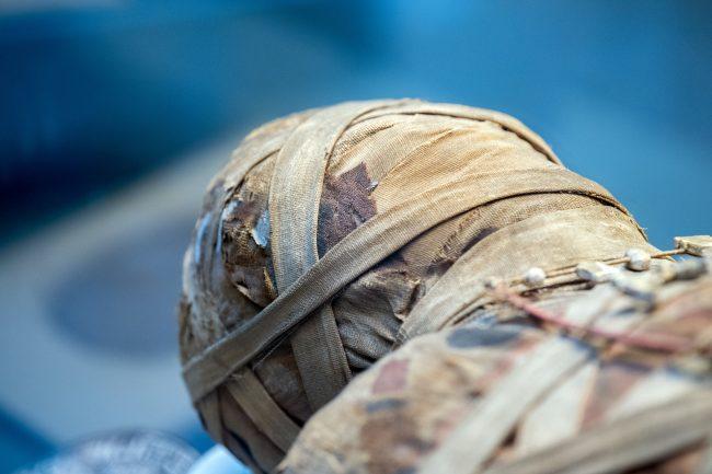 oldest tattoo on egytian mummy