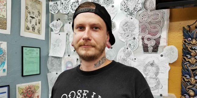 Tattoo Artist Spotlight on Tristan Lewellyn at Funhouse Tattoo San Diego