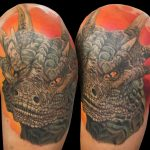 Draco from DragonHeart Tattoo
