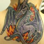 Dragon I covered an old tattoo with