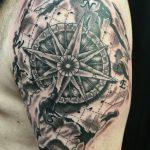 Map tattoo