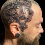 Medusa headshot