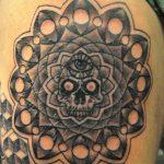 Skull Eye Mandala