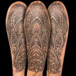 henna style half sleeve